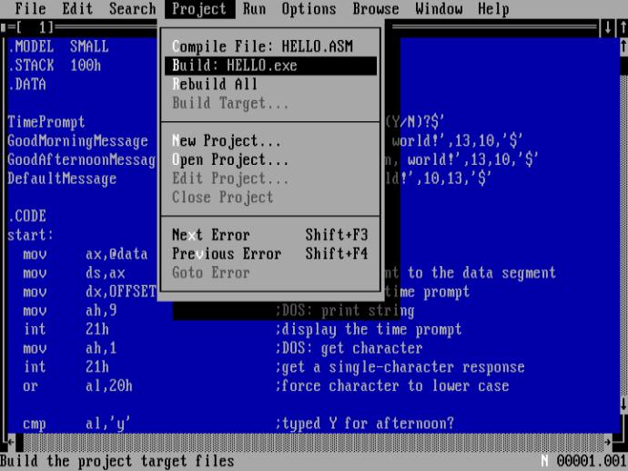 Microsoft Programmer's WorkBench (PWB)