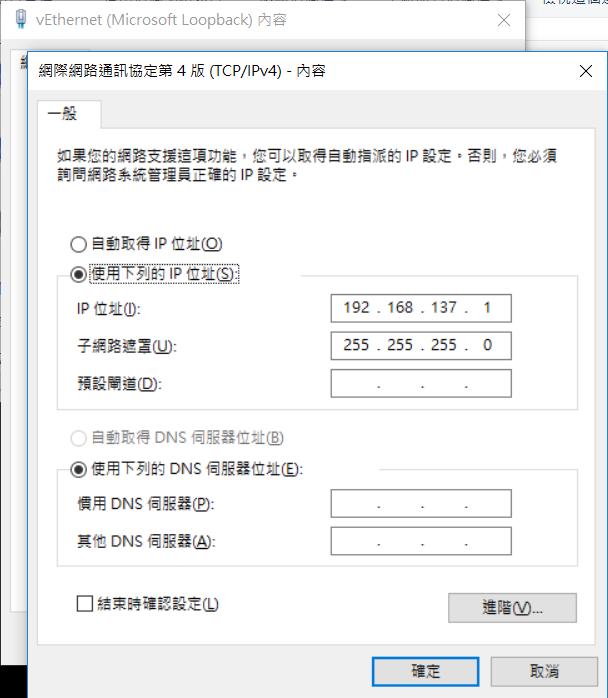 虛擬網段 IP